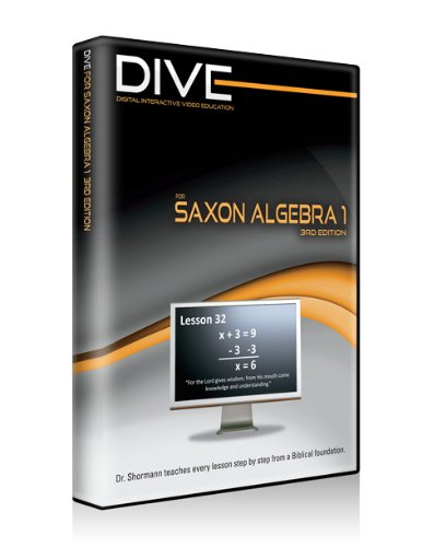Dive Cd-Rom For Saxon Algebra 1 3Rd Edition