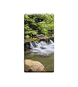 TransMute Premium Printed Back Case Cover With Full protection For Sony Xperia M2 (Designer Case)