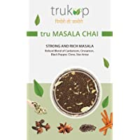 TRUKUP India's Original Handcrafted Tru Assam Masala Chai Tea Loose Leaf (100 Gm/3.53 Oz) Makes 40-50 Cups - Contains...