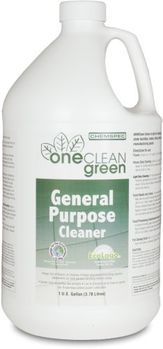 Chemspec OCGGPC4G OneClean Green General Purpose Cleaner, 1 Gallon Bottles (Case of 4)