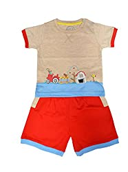 shorts set pepito AS-1049F FAWN MILANCH 9-12 Y