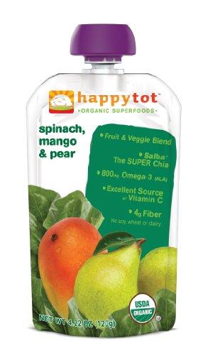 Happy tot organic baby food