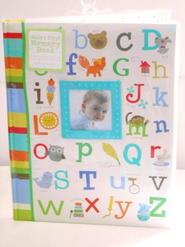 Baby'S First Memory Book Alphabet W/ Pictures, Green, Blue, Brown, Yellow, Orange front-972272