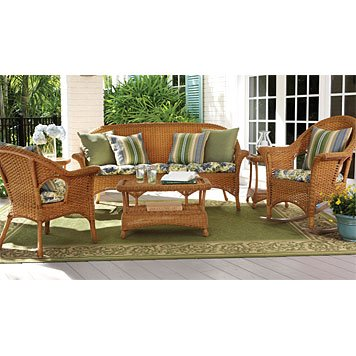 Orvis Willowemoc All Weather Woven Patio Furniture Pieces