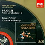 Image of Brahms: Violin Sonatas No. 1-3 / Perlman, Ashkenazy