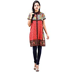 Vastra Vinod Women's Casual Wear Alluring Cotton Kurta
