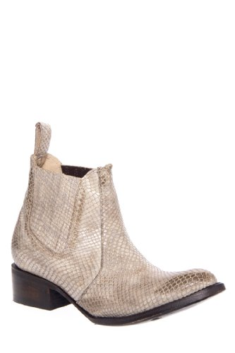 Freebird by Steven Lasso Low Heel Textured Chelsea Bootie