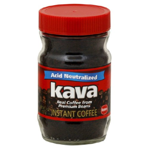 Kava, Instant Coffee, 4-Ounce (12 Pack)