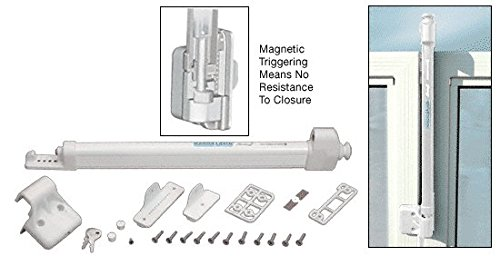 C.R. Laurence Ll1Mw Crl White Magna-Latch Child Safe Lock front-926168