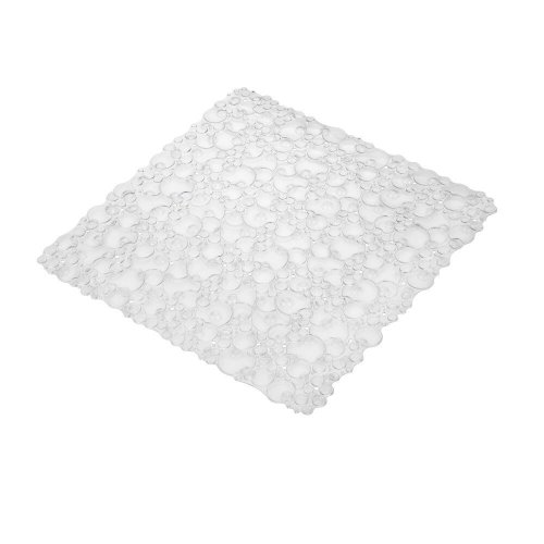 Croydex Bubbles Shower Mat, 20-7/8 by 20-7/8-Inch, Clear - 1