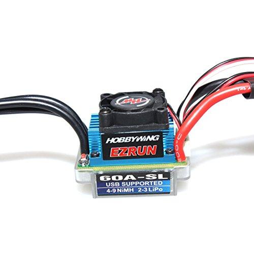 Hobbywing-EZRUN-60A-SL-Drehzahlregler-Brushless-Regler-Power-System-fr-110-112-RC-Car