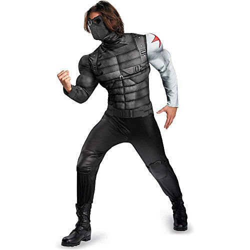 Winter Soldier Classic Muscle Adult Costume - 42-46