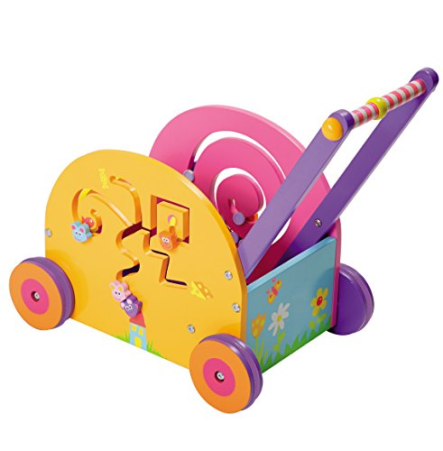 Boikido Wooden Push And Play - Mouse Wagon