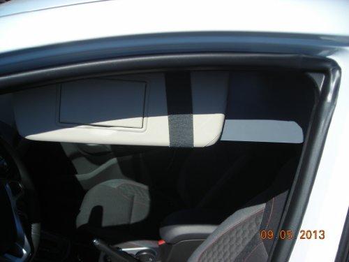 1 Pair Side Window Sun Visor Extenders For Subaru Owners front-803264