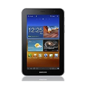 Samsung GT-P6200 Galaxy Tab 7.0 (Plus) 16GB, 3G, 3MP, 1.2GHz dual-core, 3.2 Honeycomb 7-Inch Unlocked World Tablet PC (Black)