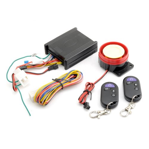 Neewer® Motorcycle Bike Anti-Theft Security Alarm System Remote Control Engine Start 12V front-1010529