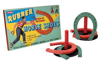 Schylling Rubber Horse Shoe Set