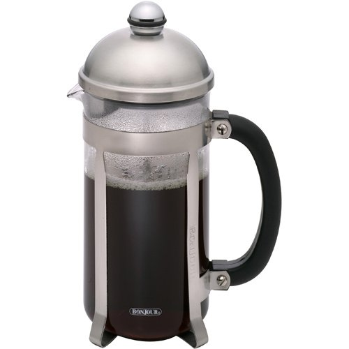 Maximus Brushed Stainless Steel 8-Cup French Press