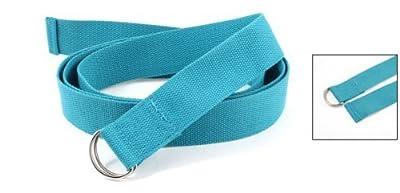 Como D-Ring Design Yoga Stretch Strap Gürtel 3.8cm Breite für Damen Woman