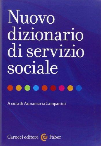 Nuovo dizionario di servizio sociale PDF