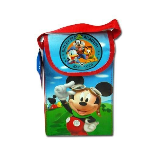 Disney Mickey Clubhouse Non Woven Utility Bag W/flap & Handle with Matte Printing - 1