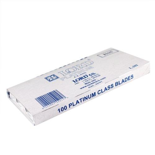 100 Lord Double Edge Safety Razor Blades Platinum Class (Razor Platinum compare prices)
