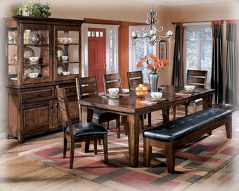 Design by Ashley D442 45 Larchmont Collection Dining Room Table