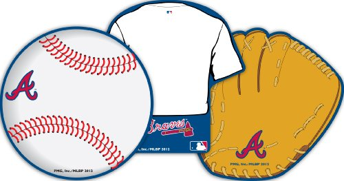 Eureka Atlanta Braves MLB Licensed Paper Cut Outs