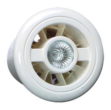 Vent Axia 188110 Luminaire L Combined Extract Fan & Light. Safety Extra Low Voltage