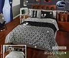 Mickey Night Reversible Comforter and Sheet Set (Queen)