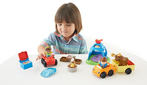 Fisher-Price Little People Going Camping (Little People Toys Fisher Price compare prices)