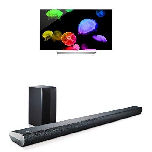 lg lg electronics 55ef9500 55 inch flat oled tv with on. Black Bedroom Furniture Sets. Home Design Ideas