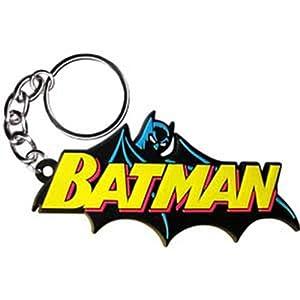 Licenses Products Dc Comics Originals Batman Rubber Keychain at Gotham City Store