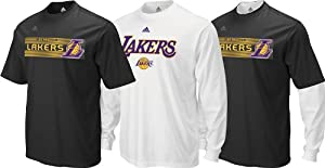 NBA Los Angeles Lakers Black T-Shirt Combo Pack by adidas