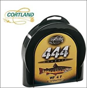 Cortland 444 Classic Sylk Floating Fly Line, Mustard, DT6F