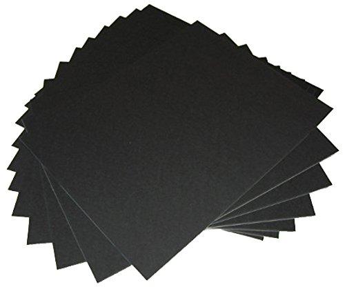 50 16x20 UNCUT mat matboard Black Color (Mat Board Storage compare prices)