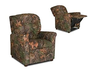Camouflage 4 Button Child Recliner Chair from DozyDotes