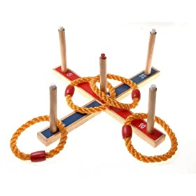 QUOITS SET (563) - ENJOY HOURS OF GARDEN FUN WITH THE ANCIENT GAME OF QUOITS