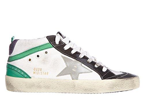 Golden-Goose-zapatos-zapatillas-de-deporte-hombres-en-piel-nuevo-mid-star-vintag
