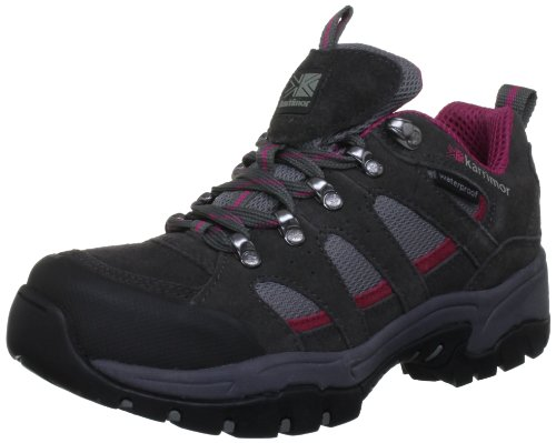 Karrimor Womens Bodmin Low 3 Ladiesweathertite Trekking and Hiking Shoes K607-DGC Dark Grey/Cochineal 6 UK, 39 EU, 7 US