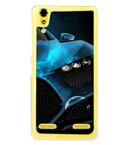 Fuson Premium Need For Speed Metal Printed with Hard Plastic Back Case Cover for Lenovo A6000