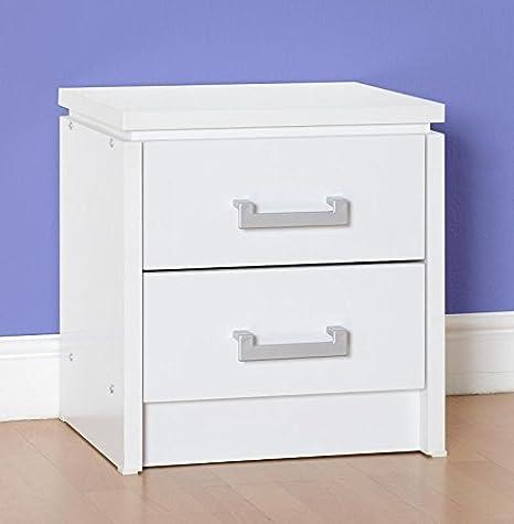 2 cajones en color blanco
