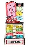 HOTLIX® ANT-LIX SUCKERS ASSORTED FLAVORS Box of 36
