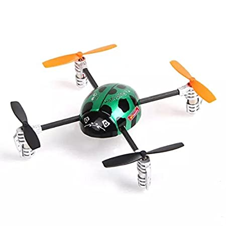 Goliton® maquette d'aviation de 2.4G 3D Walkera Mini 4CH UFO RC QR Ladybird V2 Quadcopter Heli BNF No transmetteur RTF