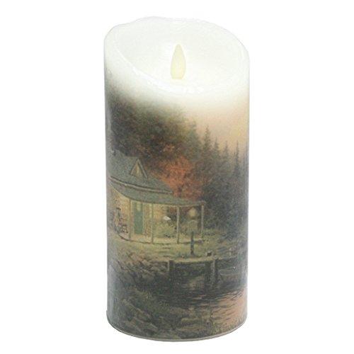 Kinkade Perfect Day Candle 7In B/O
