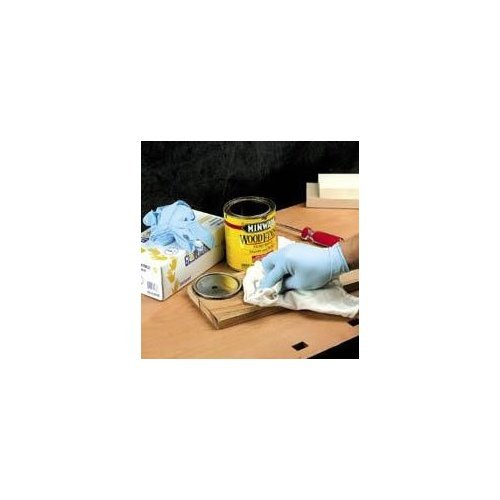 Buy Nitrile Gloves Size X-Large 100 Pcs. (Peachtree Woodworking Painting Supplies,Home & Garden, Home Improvement, Categories, Painting Tools & Supplies, Prep Materials, Paint Gloves)