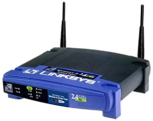 Linksys WAP54G-DE Wireless ACCESS POINT 802.11g 802.11b
