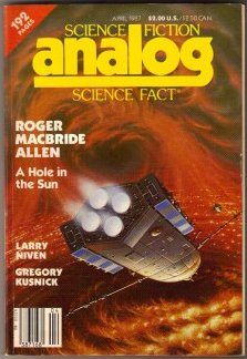 Image for Analog Science Fiction Science Fact April 1987 (Vol. 107, No. 4)