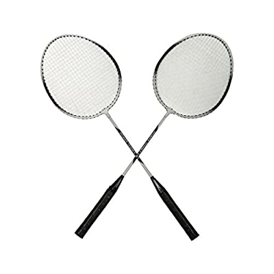 Tennex Badminton Set T111 - Iron Body With 3/4 Cover - Black