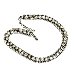 VICTORIA - Laura Lively Diamond Style Crystal Necklace